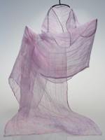 シルク麻紫陽花